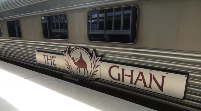 On The Ghan: Adelaide to Alice Springs