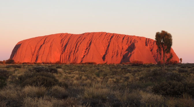 In the Red Centre of Australia 2 – Uluru (Ayers Rock) and Kata Tjuta (The Olgas)